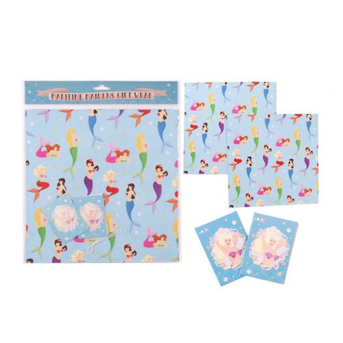 mermaid wrapping paper | Mermaiding UK | mermaiding.co.uk