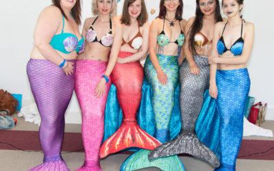 Mermaid Spa Day: Caroline & co