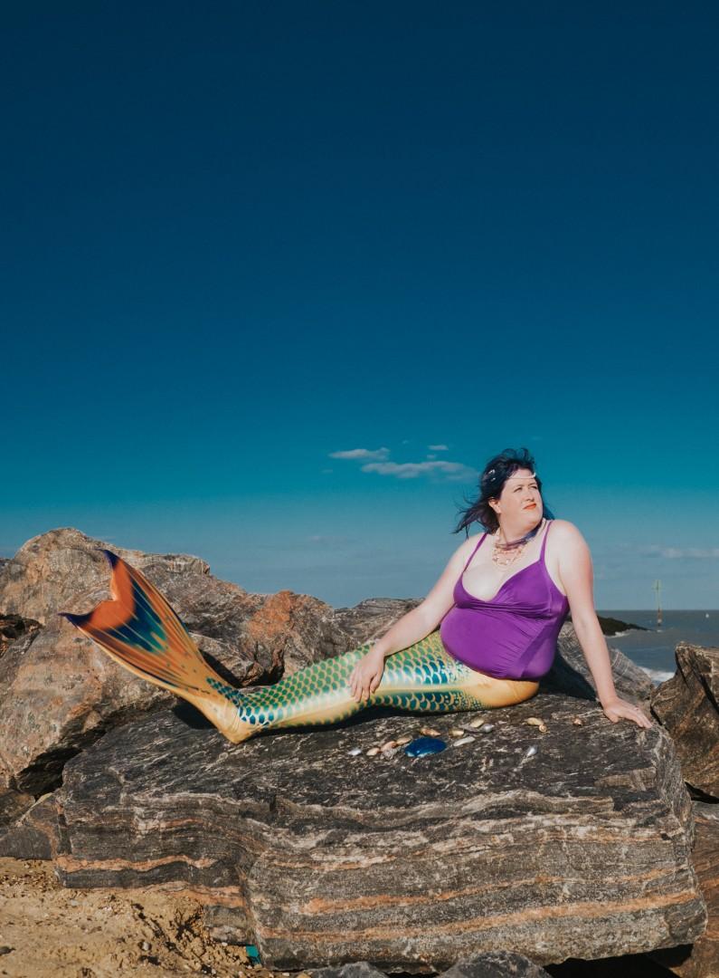 Body Positive Mermaids by Mermaiding UK, Grace Elizabeth Photography, The Mermaid Playground and Bodyposipanda | mermaiding.co.uk