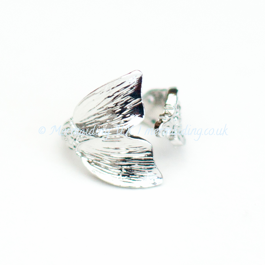 mermaid tail whale tail ring | Mermaiding UK | mermaiding.co.uk
