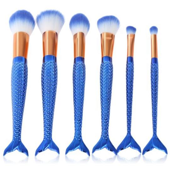 mermaid makeup brushes | mermaiding.co.uk