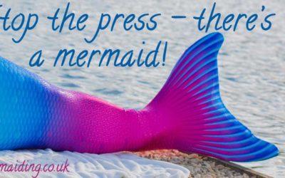 Mermaiding UK on BBC radio