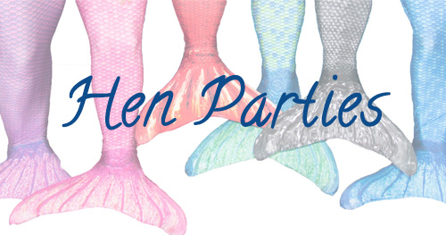 mermaid hen parties
