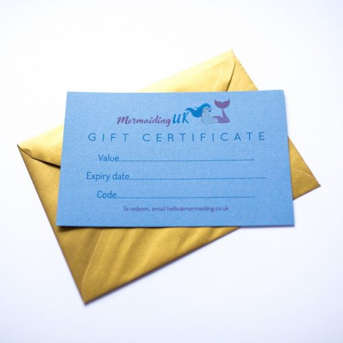 Mermaiding UK gift vouchers | mermaiding.co.uk