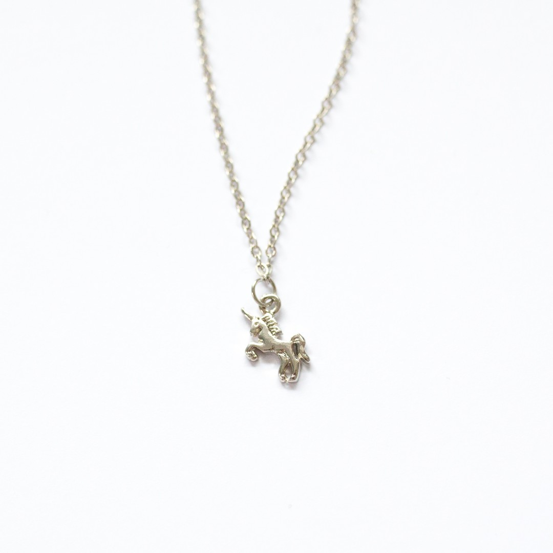tiny unicorn necklace | Mermaiding UK | mermaiding.co.uk