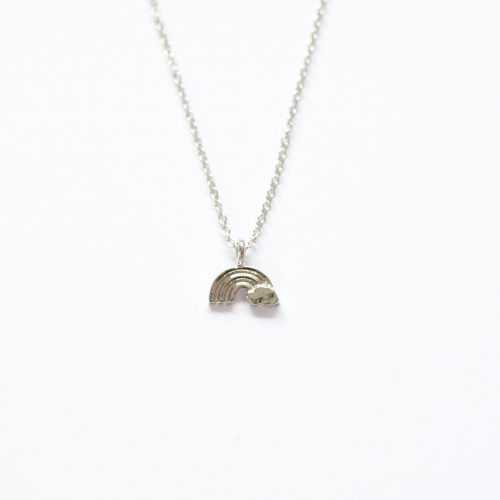 tiny rainbow necklace | Mermaiding UK | mermaiding.co.uk