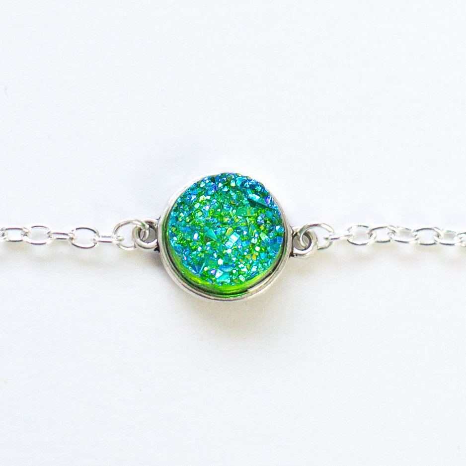 druzy bracelets | Mermaiding UK | mermaiding.coi.uk