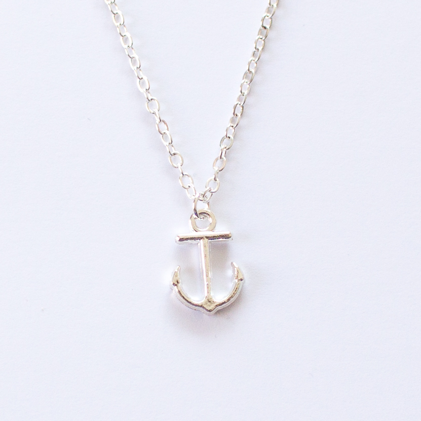 anchor necklace | Mermaiding UK | mermaiding.co.uk