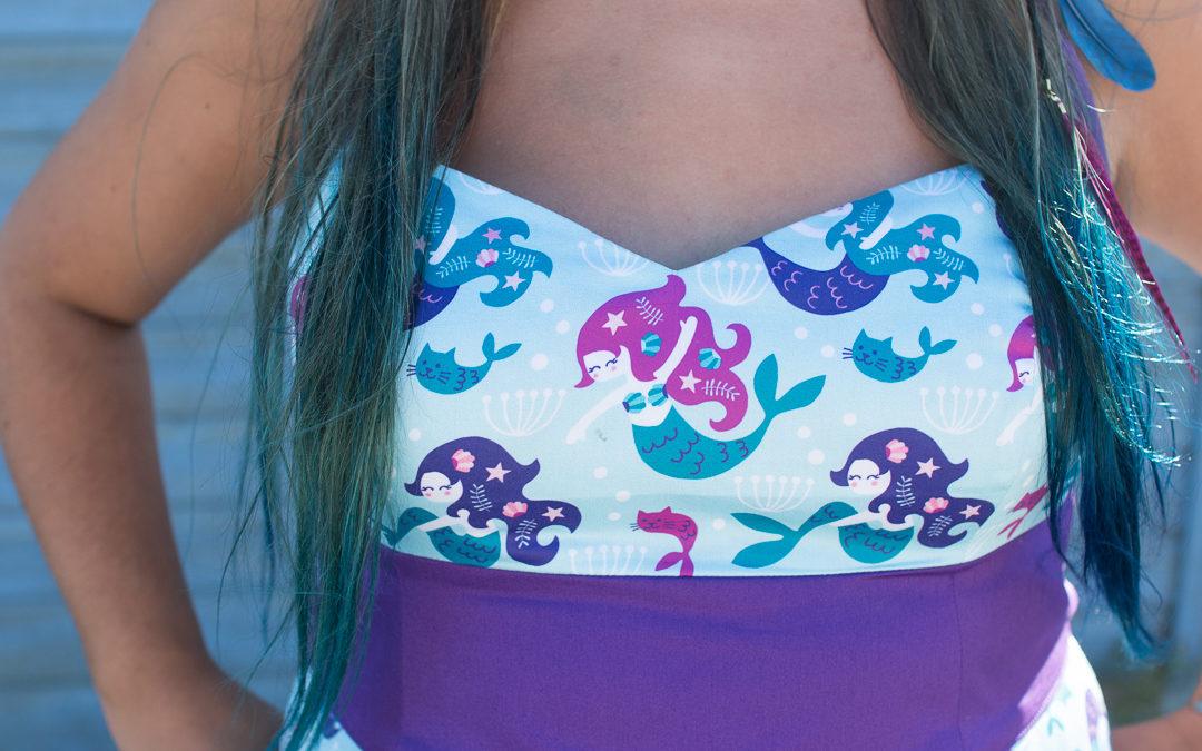 A custom mermaid dress