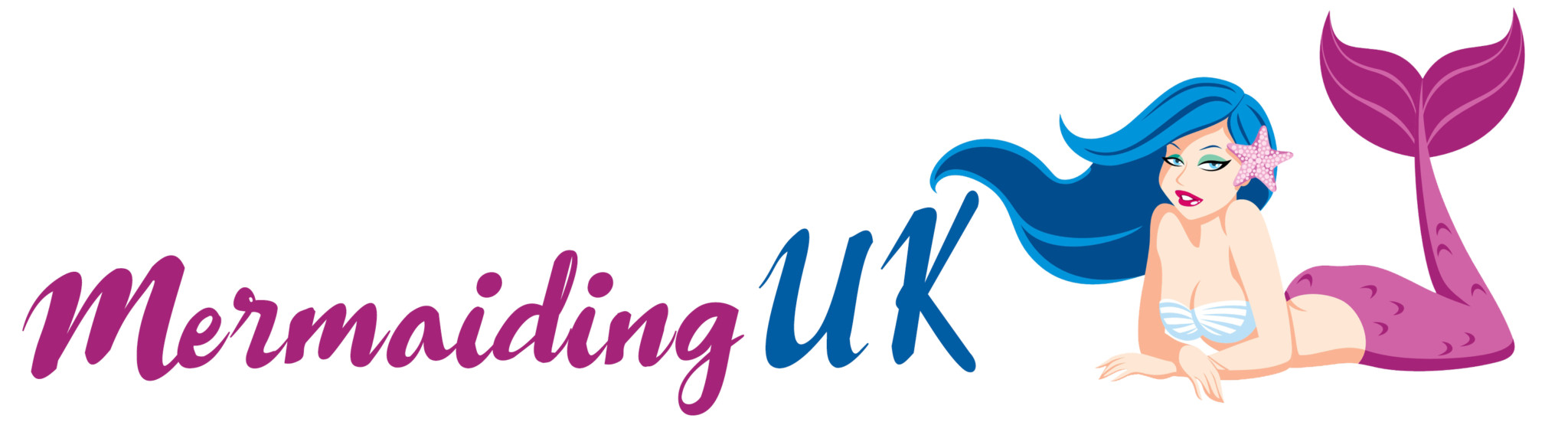 Mermaiding UK logo | mermaiding.co..uk