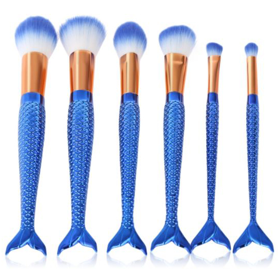 mermaid makeup brushes | mermaiding.co.uk