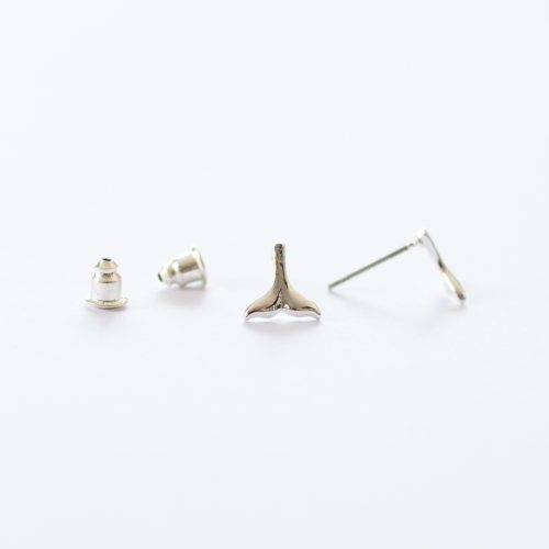 mermaid tail stud earrings | mermaiding.co.uk