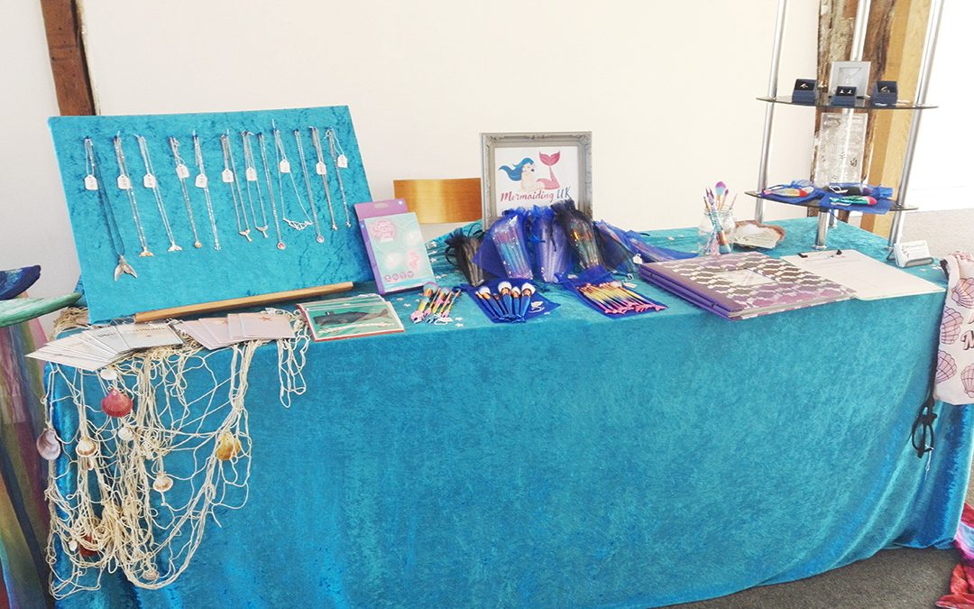 Pop up mermaid shop: Colchester