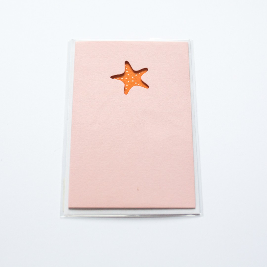 starfish card | Mermaiding UK | mermaiding.co.uk