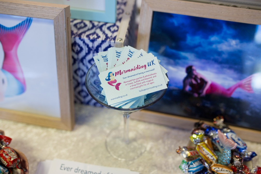Mermaiding UK at Trinity Park Ipswich wedding fair | mermaiding.co.uk