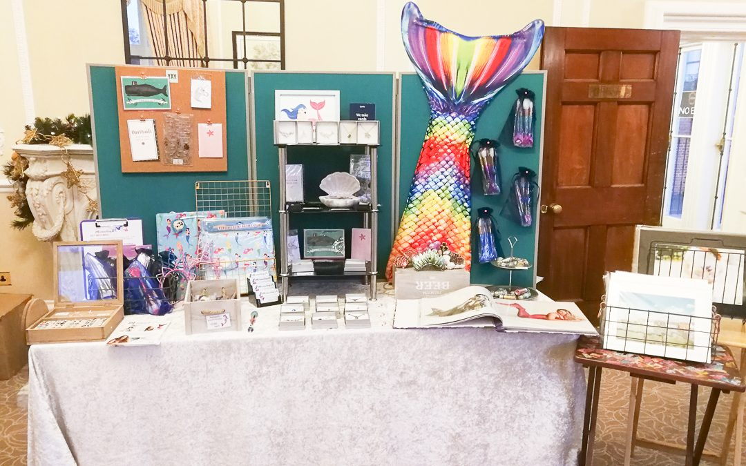 Pop Up Mermaid Shop: Wivenhoe House